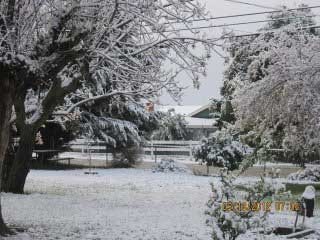 "<div class=""meta ""><span class=""caption-text "">ABC7 viewer Lucia Contreras-Bejar sent in this photo of snow in Cherry Valley after a storm passed over Southern California on Sunday March, 18, 2012.  When You Witness breaking news, or even something extraordinary, send pictures and video to video@myabc7.com, or send them to @abc7 on Twitter or our ABC7 Facebook page. (ABC7 viewer Lucia Contreras-Bejar)</span></div>"